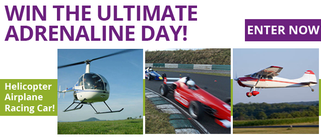 Win the Ultimate Adrenaline Day