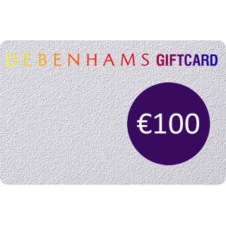 €100 Debenhams Gift Voucher image