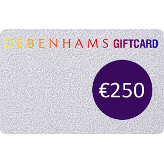 €250 Debenhams Gift Voucher