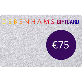 €75 Debenhams Gift Voucher