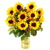 Sunflower Bouquet image