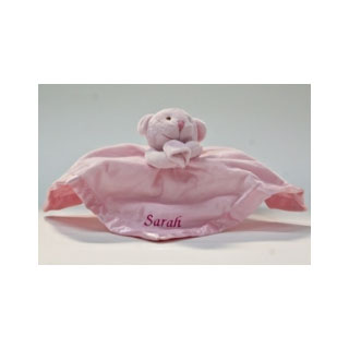 Personalised Baby Girl Comforter image