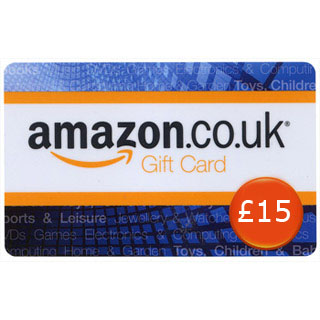 £15 Amazon.co.uk Gift Voucher image