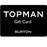 Topman Gift Vouchers