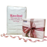 Personalised Baby Girl Towel Set image
