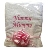 Personalised Yummy Mummy Hand Towel image