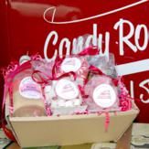 Candy Rock Lane Pink Treats Hamper image