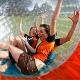 Hydro Zorbing for 3 People