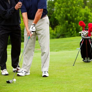€350 Golf Lesson Gift Voucher