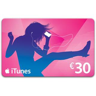 €30 iTunes Gift Voucher