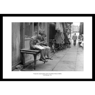 Moore Street Boys, 1961 - Framed Press Photo image