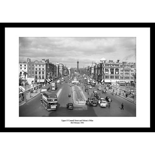 OConnell Street, 1961 - Framed Press Photo image