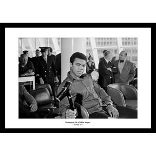 Muhammed Ali, Dublin 1972  - Framed Press Photo