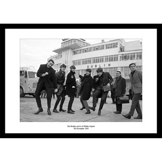 The Beatles, Dublin 1963 - Framed Press Photo image
