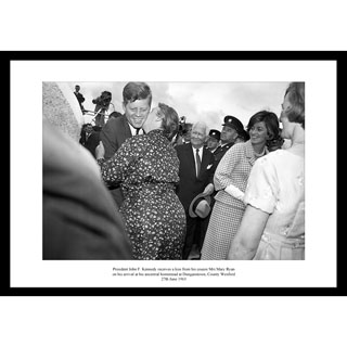 JFK, Ireland 1963 - Framed Press Photo image