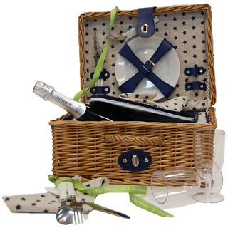 Al Fresco Filled Picnic Basket - 2 Person image