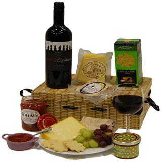 Wine & Cheese Hamper image