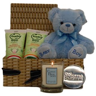Baby Boo Teddy Hamper (Boy) image