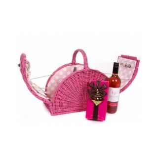 Pink Willow Picnic Hamper - 2 Person image