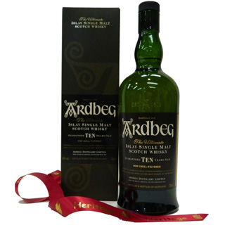 Ardbeg 10 Year Old and Gift Box image