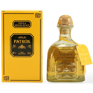 Patron Anejo Gold Tequila image