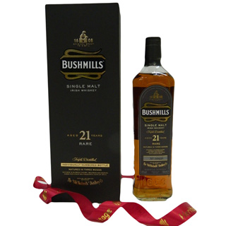 Bushmills 21 Year Old Malt Whiskey