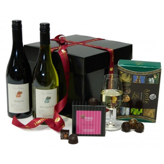 Wine & Chocolate Hamper image