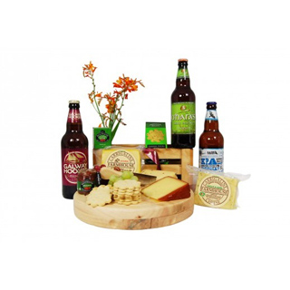 Irish Craft Beer & Cheese Hamper image