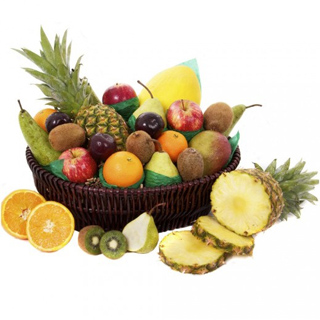 Detox and Relax Fruit Gift Basket image