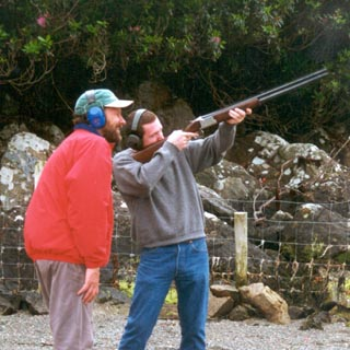 Clay Pigeon Shooting image