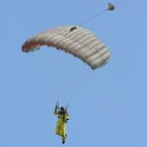 Solo Parachute Jump