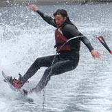 Wake Boarding Session