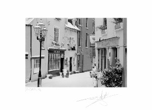 "Kinsale under Snow 91 - 20""x24"" image"