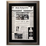 Framed Front Pages