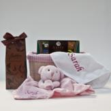 Personalised Baby Hamper – Baby Girl image
