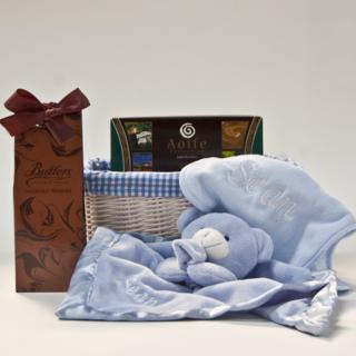 Personalised Baby Hamper – Baby Boy image