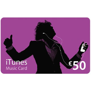 €50 iTunes Gift Voucher image