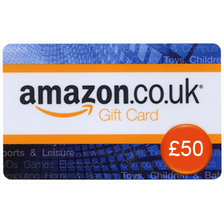 £50 Amazon.co.uk Gift Voucher image