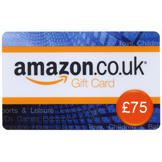 £75 Amazon.co.uk Gift Voucher image