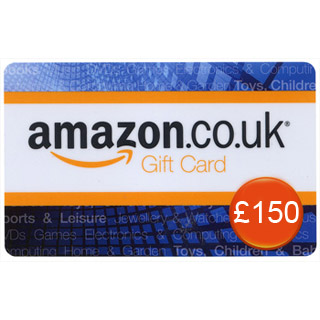 £150 Amazon.co.uk Gift Voucher image