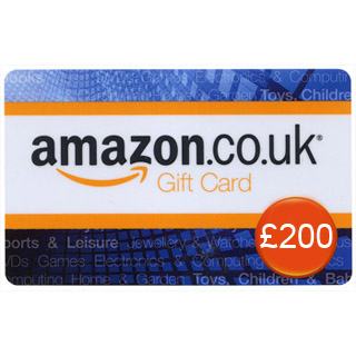 £200 Amazon.co.uk Gift Voucher image