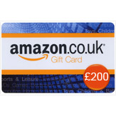 £200 Amazon.co.uk Gift Voucher