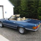 1 Day Classic Car Hire - Mercedes 350SL (Weekend) image