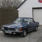 1 Day Classic Car Hire - Mercedes 350SL (Weekday) image