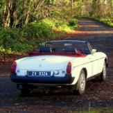 1 Day Classic Car Hire - MGB Roadster (Weekend)