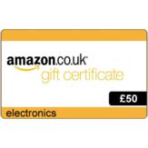 £50 Amazon.co.uk Electronics Gift Voucher