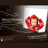 €200 Christmas Gift Voucher plus €50 Free