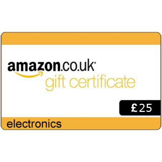 £25 Amazon.co.uk Electronics Gift Voucher