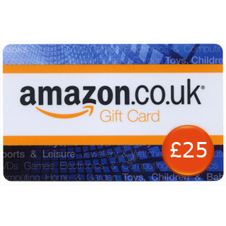 £25 Amazon.co.uk Gift Voucher image