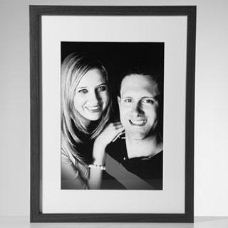 Framed Print 50x40cm image